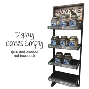 TRC PAWZZIE Display Rack - No Jars