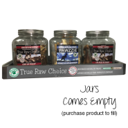 TRC Counter Display - 3 Jars