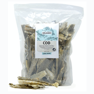 Icelandic+ Cod Skin Strips Mixed Pieces 1 lb Bag