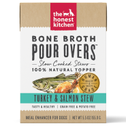HK Dog GF Pour Overs Bone Broth Trky & Salmon Stew 12/5.5 oz