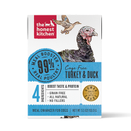 HK Dog GF Meal Booster 99% Cage Free Turkey & Duck 12/5.5 oz