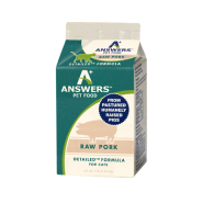 Answers Cat Detailed Raw Pork Formula 1 lb