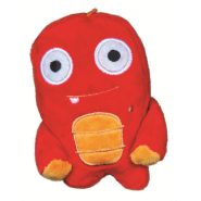 Spunky Pup Alien Flex Plush Toy Mini Stixx