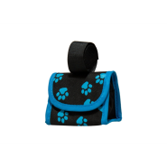 Five Star Purse Disp Blue Pawprint