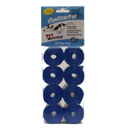 Five Star Cored Refill Bags Blue 8x15 ct