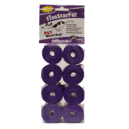 Five Star Cored Refill Bags Purple 8x15 ct