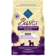 Blue Basics LID Dog Senior Turkey & Potato 4 lb
