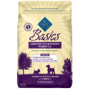 Blue Basics LID Dog Senior Turkey & Potato 24 lb