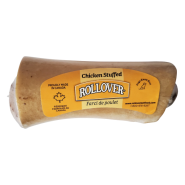 Rollover SMALL Chicken Stuffed Beef Bone