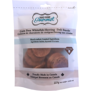 Rollover Dog Gone Gourmet GF Whitefish Herring Deli Snacks 2