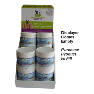 Vitapet Empty Displayer - Holds 4 Units