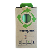 Original PoopBags USDA Certified Biobased Roll 8/120 ct