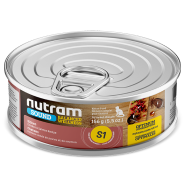 Nutram Sound Cat S1 Balanced Wellness Kitten 24/156 gm