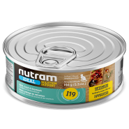 Nutram Ideal Solution Cat I19 Support Skin Coat 24/156 gm