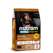 Nutram 3.0 Total GF Dog T27 SM Breed Chicken & Turkey 5.4 kg