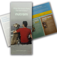 Nutram Trifold - Brand Overview