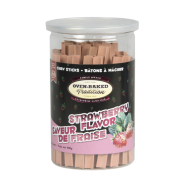 Oven-Baked Tradition Dog Chew Sticks Strawberry 500 g
