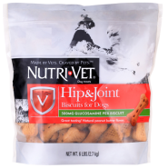 Nutri-Vet Hip & Joint Biscuits Dogs Extra Strength 6 lb
