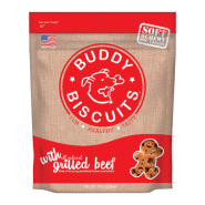 Buddy Biscuits Soft & Chewy Grilled Beef Treat 6oz