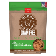 Buddy Biscuits Soft & Chewy GF Roast Ckn Treat 5 oz