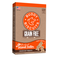 Buddy Biscuits GF Crunchy Teeny Treats Peanut Butter 7 oz