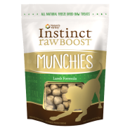 Instinct Raw Boost Dog Munchies Treats Lamb 4 oz