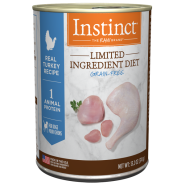 Instinct Dog LID GF CageFree Turkey 6/13.2 oz Cans