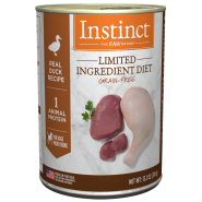 Instinct LID GF Dog Cans CageFree Duck 6/13.2 oz