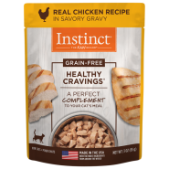 Instinct Cat Healthy Cravings GF Pouches Chicken 24/3 oz