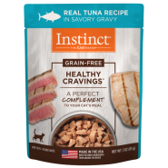 Instinct Cat Healthy Cravings GF Pouches Tuna 24/3 oz