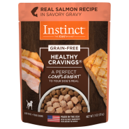 Instinct Dog Healthy Cravings GF Pouches Salmon 24/3 oz