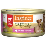 Instinct Dog Small Breed Beef 3 oz