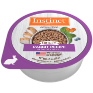 Instinct Cat GF Minced Farm Raised Rabbit 12/3.5 oz
