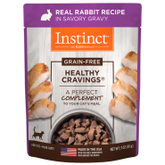 Instinct Cat Healthy Cravings GF Pouches Rabbit 24/3 oz