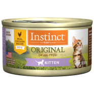 Instinct Cat Original GF Chicken Kitten 24/3 oz Cans