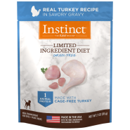 Instinct Dog LID GF CageFree Turkey 24/3 oz Pouch
