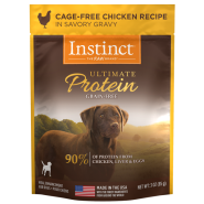Instinct Dog Ultimate Protein CageFree Chkn 24/3 oz Pouch