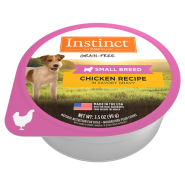 Instinct Dog Chicken Small Breed Cups 12/3.5 oz
