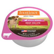 Instinct Dog Beef Small Breed Cups 12/3.5 oz