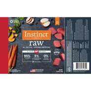 Instinct Dog Raw Beef Chub 5 lb