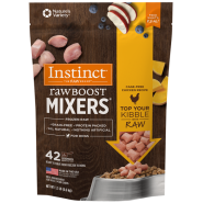 Instinct RawBoost Frozen Mixers Dog CageFree Chicken 1.5 lb