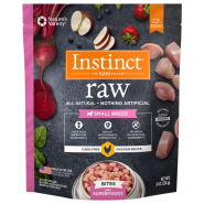 Instinct Raw Dog CageFree Chicken Bites Sm Breed Trials 8 oz