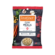 Instinct Dog FD Raw Meals GF Real Beef 6/2 oz