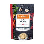 Instinct Dog FD Raw Meals GF Real Beef 9.5 oz