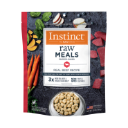 Instinct Dog FD Raw Meals GF Real Beef 25 oz