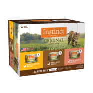 Instinct Cat Original GF Variety Pack 12/3 oz Cans