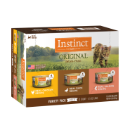 Instinct Cat Original GF Variety Pack 12/5.5 oz Cans