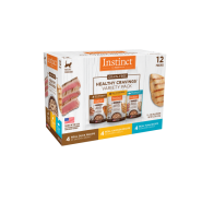 Instinct Cat Healthy Cravings Variety Pack 12/3 oz Pouch