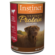 Instinct Ultimate Protein GF Dog Cans Beef 6/13.2 oz