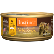 Instinct Cat Ultimate Protein GF Chicken 12/5.5oz Cans